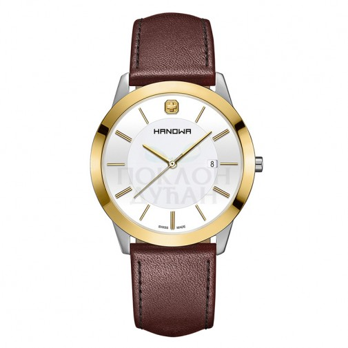 Muški Hanowa Swiss Elements Zlatni ručni sat