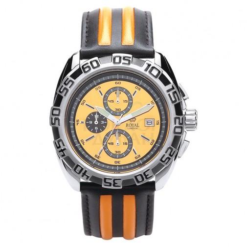 Muški Royal London Sporty Narandžasti Sportski ručni sat