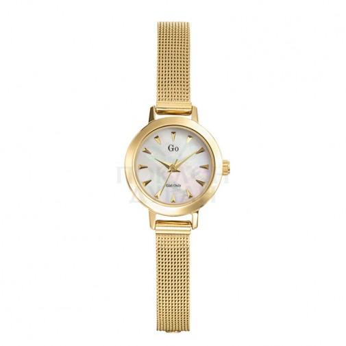 Ženski Girl Only Engrener Zlatni ručni sat sa pancir metalnim kaišem