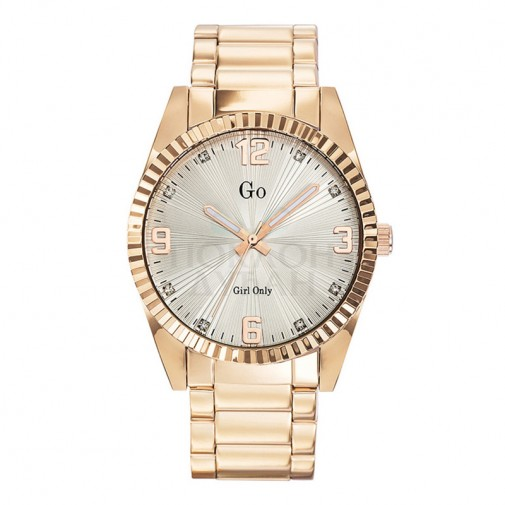 Ženski Girl Only Or et Rose Modni Zlatni ručni sat sa metalnim kaišem