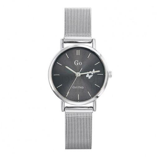 Ženski Girl Only Seduis moi Sivi Elegantni ručni sat sa pancir metalnim kaišem