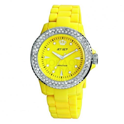 Ženski Jet Set Addiction Žuti ručni sat