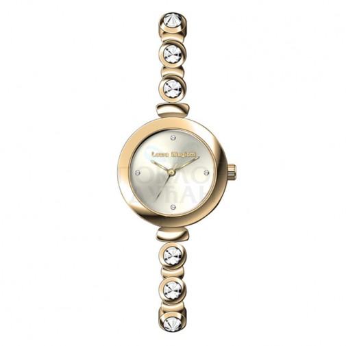 Ženski Laura Biagiotti Phoebe Tanki Zlatni Elegantni ručni sat