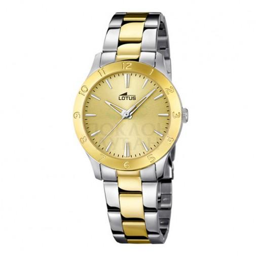 Ženski Lotus Trendy Zlatni Elegantni Bikolor ručni sat