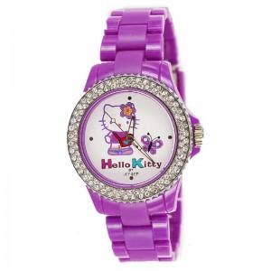 Dečji Hello Kitty Leptirić Ljubičasti ručni sat