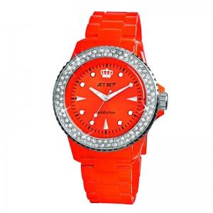 Ženski Jet Set Addiction Crveni ručni sat