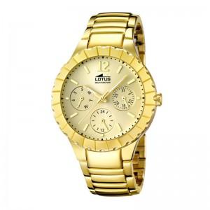 Ženski Lotus Trendy Zlatni Multifunction Sportski ručni sat