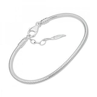Amore Baci srebrna narukvica za priveske 21 cm