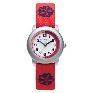 Dečji Cannibal Crveni ručni sat sa skalom za lako učenje