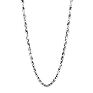 Muška Lotus Style Men In Black Palma ogrlica od hirurškog čelika