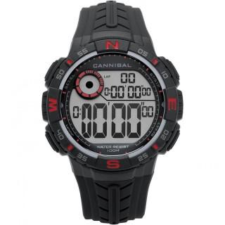 Muški Cannibal Digitalni Hronograf Alarm Crno Crveni Sportski Ručni Sat