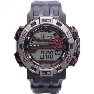 Muški Cannibal Digitalni Hronograf Alarm Plavo Crveni Sportski Ručni Sat