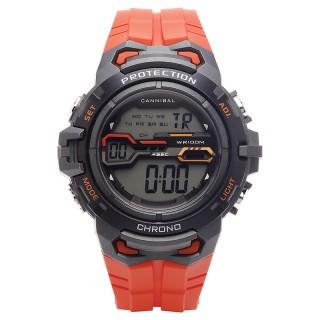 Muški Cannibal Protection Digitalni Hronograf Alarm Narandžasti Sportski Ručni Sat