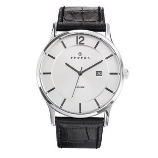 Muški Certus Kvarcni Elegantni ručni sat sa belim brojčanikom i datumom