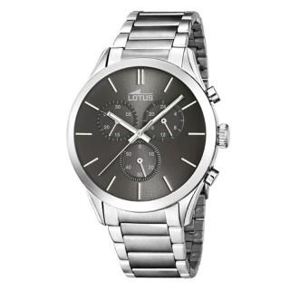 Muški Lotus Minimalist Sivi Elegantni Hronograf ručni sat
