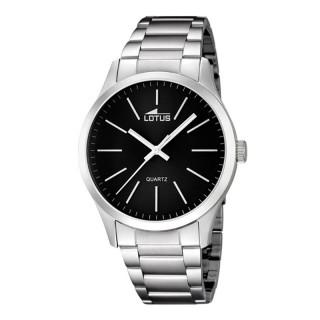 Muški Lotus Minimalist Crni Datum Elegantni ručni sat