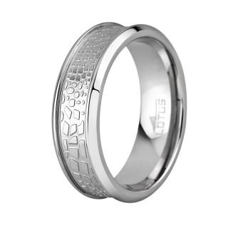 Muški Lotus Style Steel Rings