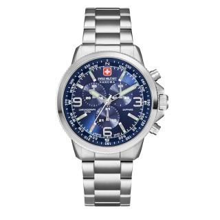 Muški Swiss Military Arrow Chrono Plavi Sportski ručni sat sa metalnim kaišem