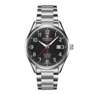 Muški Swiss Military Helvetus Automatik Crni Elegantni ručni sat sa metalnim kaišem