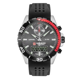 Muški Swiss Military Multimission Crni Sportski ručni sat