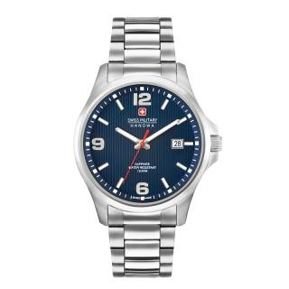 Muški Swiss Military Observer Plavi Elegantni ručni sat sa metalnim kaišem
