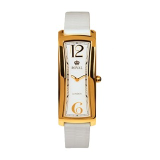 Royal London Vintage Elegantni Kvadratni Zlatni ručni sat