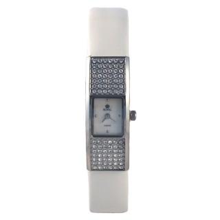 Royal London Vintage Beli Kvadratni Modni ručni sat