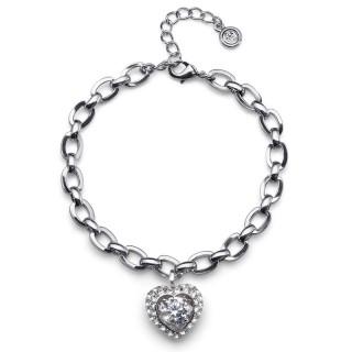 Ženska Oliver Weber Adore Crystal narukvica sa swarovski belim kristalom