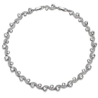 Ženska Oliver Weber Precious Crystal Ogrlica sa swarovski belim kristalom
