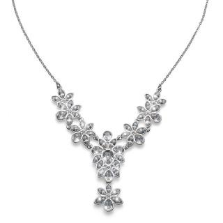 Ženska Oliver Weber Capital Crystal Ogrlica sa swarovski belim kristalom