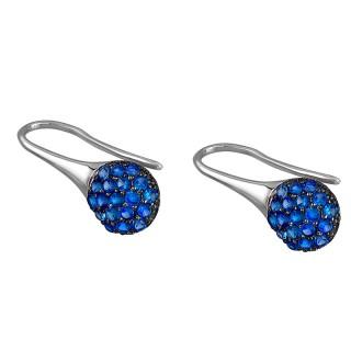 Ženske Lotus Silver Pure Essential Plava Kapljica srebrne Mindjuše