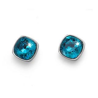 Ženske Oliver Weber Enjoy Indicolite mindjuše sa swarovski plavim kristalom