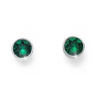 Ženske Oliver Weber Uno Emerald mindjuše sa swarovski zelenim kristalom
