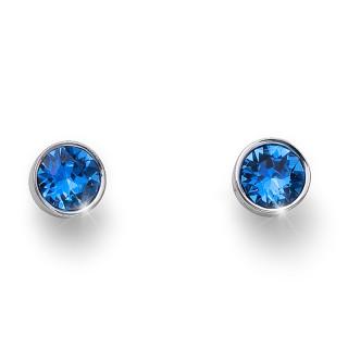 Ženske Oliver Weber Uno Sapphire mindjuše sa swarovski plavim kristalom