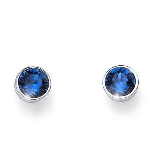 Ženske Oliver Weber Uno Montana mindjuše sa swarovski plavim kristalom
