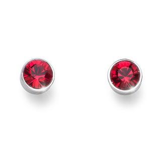 Ženske Oliver Weber Uno Light Siam mindjuše sa swarovski crvenim kristalom