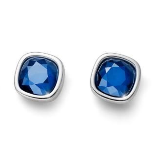 Ženske Oliver Weber Oyal Simple Royal Blue Minđuše Sa Swarovski Plavim Kristalom