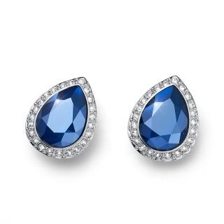Ženske Oliver Weber Kingly Royal Blue Minđuše Sa Swarovski Plavim Kristalom