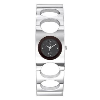 Ženski Girl Only Cercle Crni Elegantni ručni sat sa metalnim kaišem