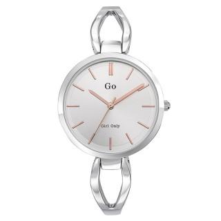 Ženski Girl Only Cercle Beli Elegantni Roze Zlatni ručni sat sa metalnim kaišem