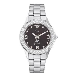 Ženski Girl Only Cristaux Crni Modni ručni sat sa metalnim kaišem