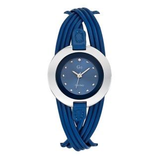 Ženski Girl Only Enlace moi Plavi Elegantni ručni sat sa plavi kožnim kaišem
