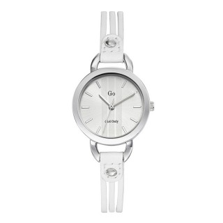 Ženski Girl Only Enlace moi Beli Elegantni ručni sat sa belim kožnim kaišem