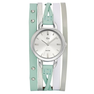 Ženski Girl Only Enlace moi Zeleni Modni ručni sat sa kožnim kaišem