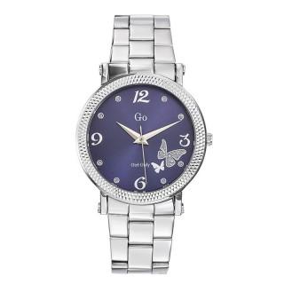 Ženski Girl Only Envole moi Ljubičasti Elegantni ručni sat sa metalnim kaišem