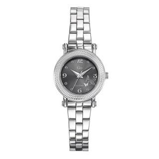 Ženski Girl Only Envole moi Sivi Elegatni ručni sat sa metalnim kaišem