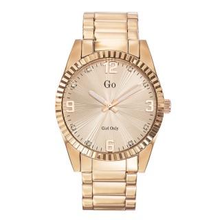Ženski Girl Only Or et Rose Modni Roze Zlatni ručni sat sa metalnim kaišem