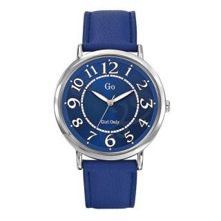 Ženski Girl Only Remplage Plavi Modni ručni sat sa plavim kožnim kaišem