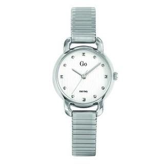 Ženski Girl Only Seduis moi Beli Elegantni ručni sat sa metalnim kaišem