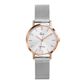 Ženski Girl Only Seduis moi Roze Zlatni Elegantni Beli ručni sat sa pancir metalnim kaišem